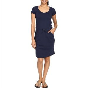 Toad & CO navy TICA t-shirt dress with pockets